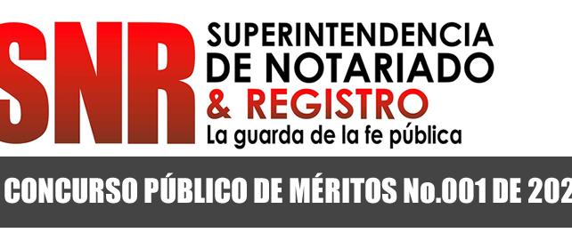 Adenda No. 06 al Concurso público de méritos No. 001 de 2018